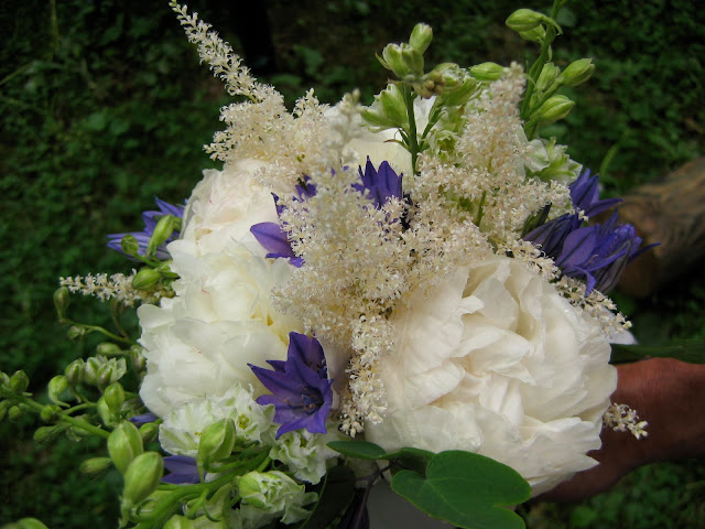 Notes And News From Shady Grove Gardens June Wedding Flowers
