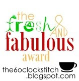 Fresh and Fabulous Award
