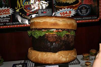 Recorde: Maior hambúrguer do mundo