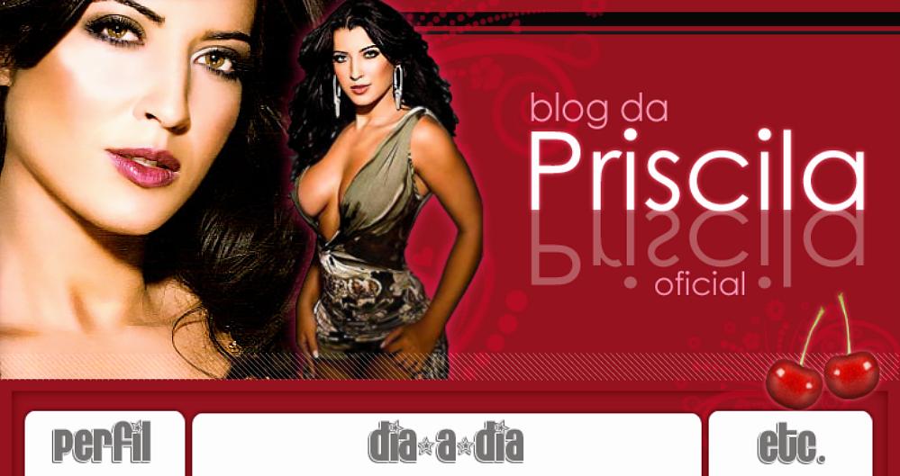 Blog Oficial Priscila Pires
