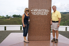 Visiting the American Memorial on Guadalcanal