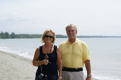 Karen & Ron at Red Beach