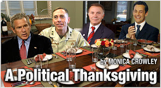 A Political Thanksgiving, by Monica Crowley