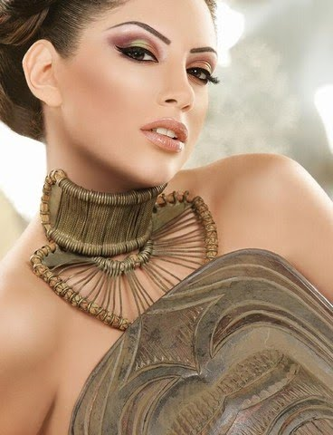 arab makeup eyes. Elegant Arab eye make-up