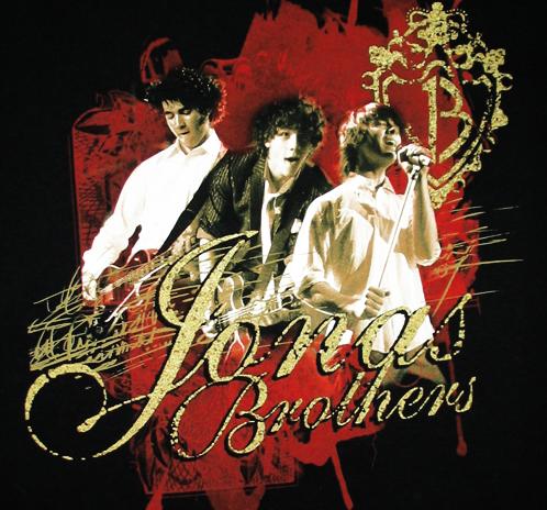 Etiketter: Jonas Brothers
