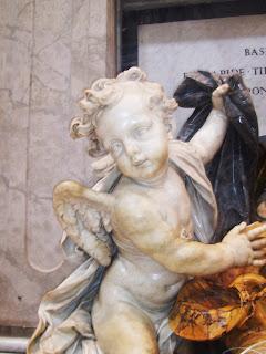 Балдахинът базиликата свети петър
