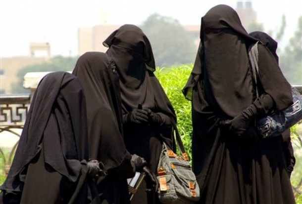 The only solution to uppity Western women is the burkha...
