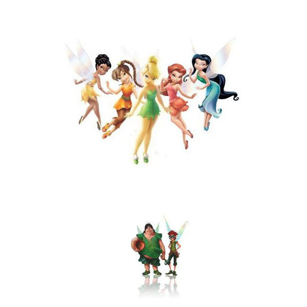 Disney Fairies Tinkerbell Invisible Coloring