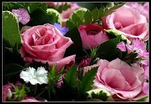 Flores Preciosas que me regaló Mi Querida Amiga Mena