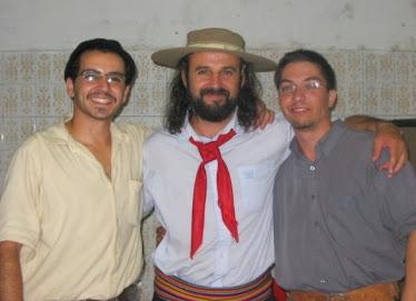 Os primeiros proprietários junto com o Leonel Gomes