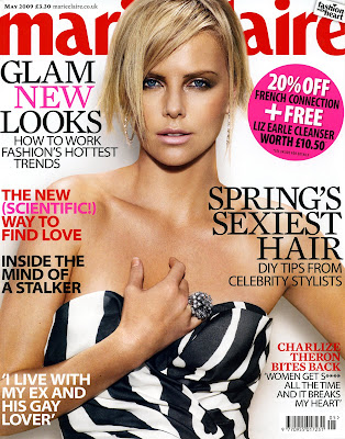 Marie Claire Magazine UK - May 2009 - UHQ Magazine Scans Celebrity Model Pictures