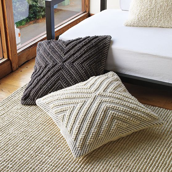 Modern Knitted Pillow : Tutu Style: A New Modern Take on Knitting!