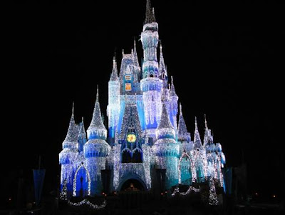 Disney+world+castle+at+