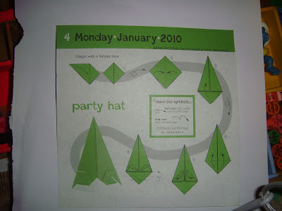 tuto party hat origami