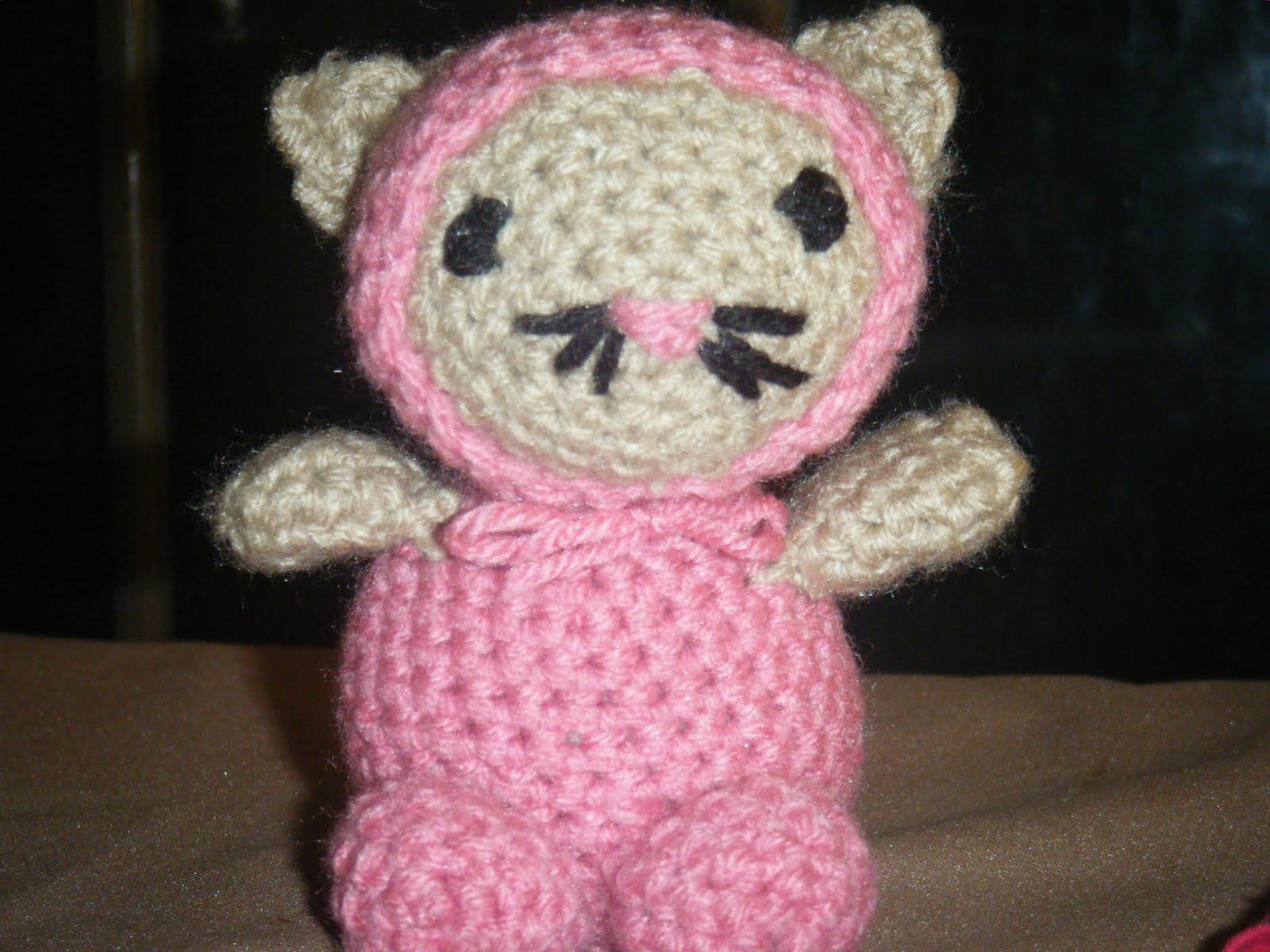 Crochet Amigurumi Accessories : MEE MAWS CAT CROCHET PATTERN Easy Crochet Patterns
