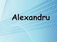 Avatare nume Alexandru