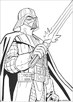 Star Wars Coloring Sheets on Star Wars Coloring Pages For Kids