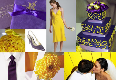 Wedding Inspirations Purple And Yellow