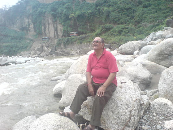River beauty near kangra jee