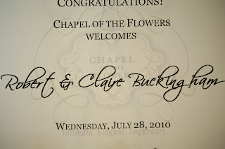 Cheers! England Couple weds at Chapel of the Flowers