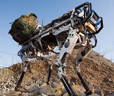 BigDog+robot Robot Pemusnah Manusia