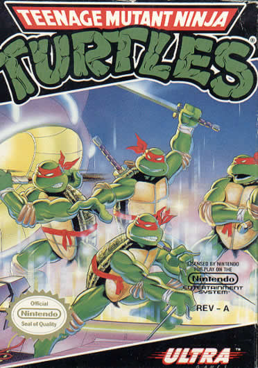 Either way I've decided to talk about the original TMNT game, ...