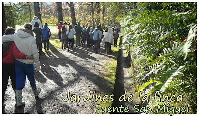 Hist rico 2009 2010 excursi n a la finca de bot n en puente san miguel - Jardines puente cultural ...