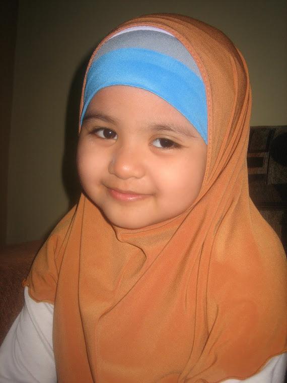 nurul syafiqah 5 thn
