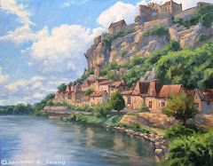 Beynac by Jennifer Young - History on Canvas