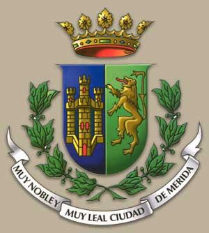 Escudo de armas de la ciudad de Mérida Yucatán