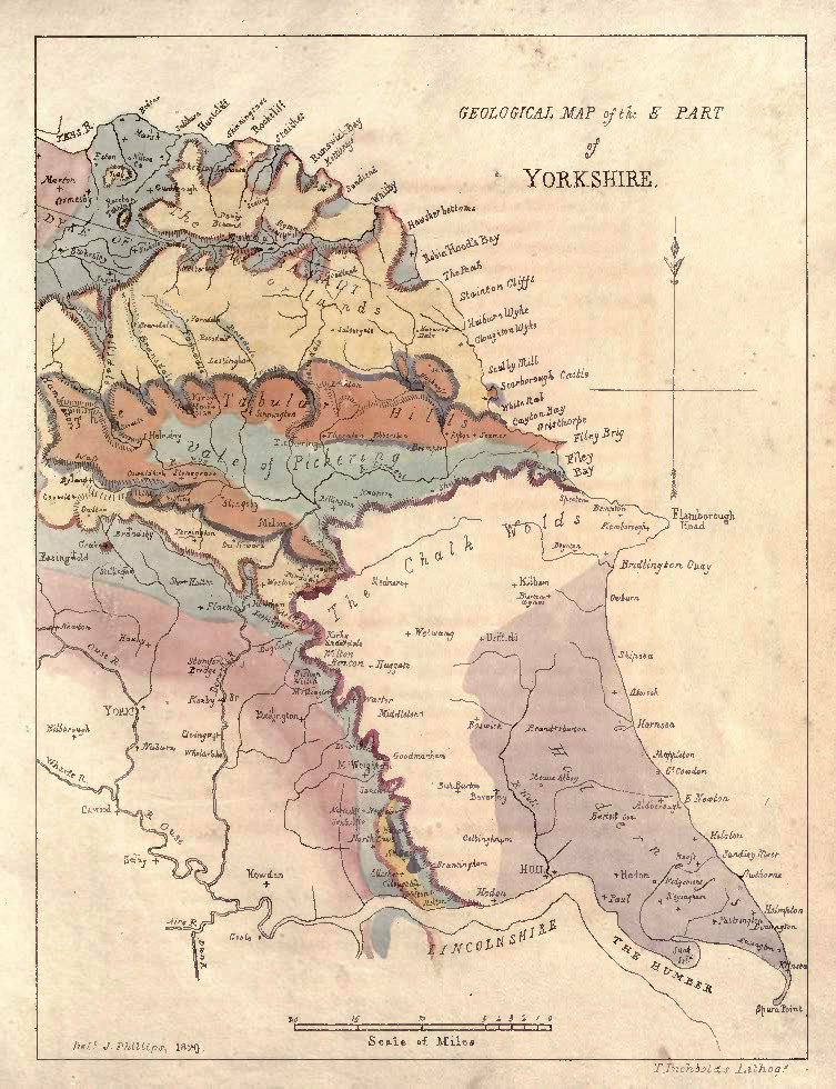 geological map of yorkshire