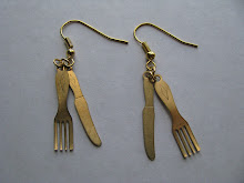Knife 'n' Fork Earrings