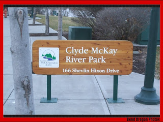 Clyde McKay River Park in Bend Oregon