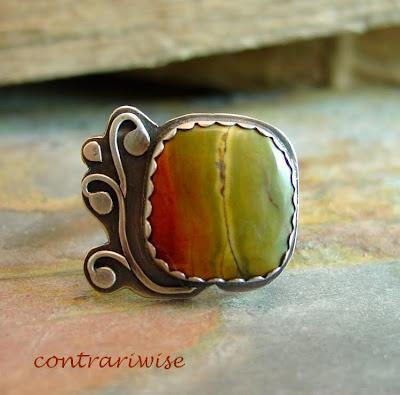 cherry creek picasso jasper ring