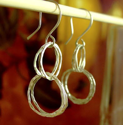 sterling silver hoop earrings jewelry etsy