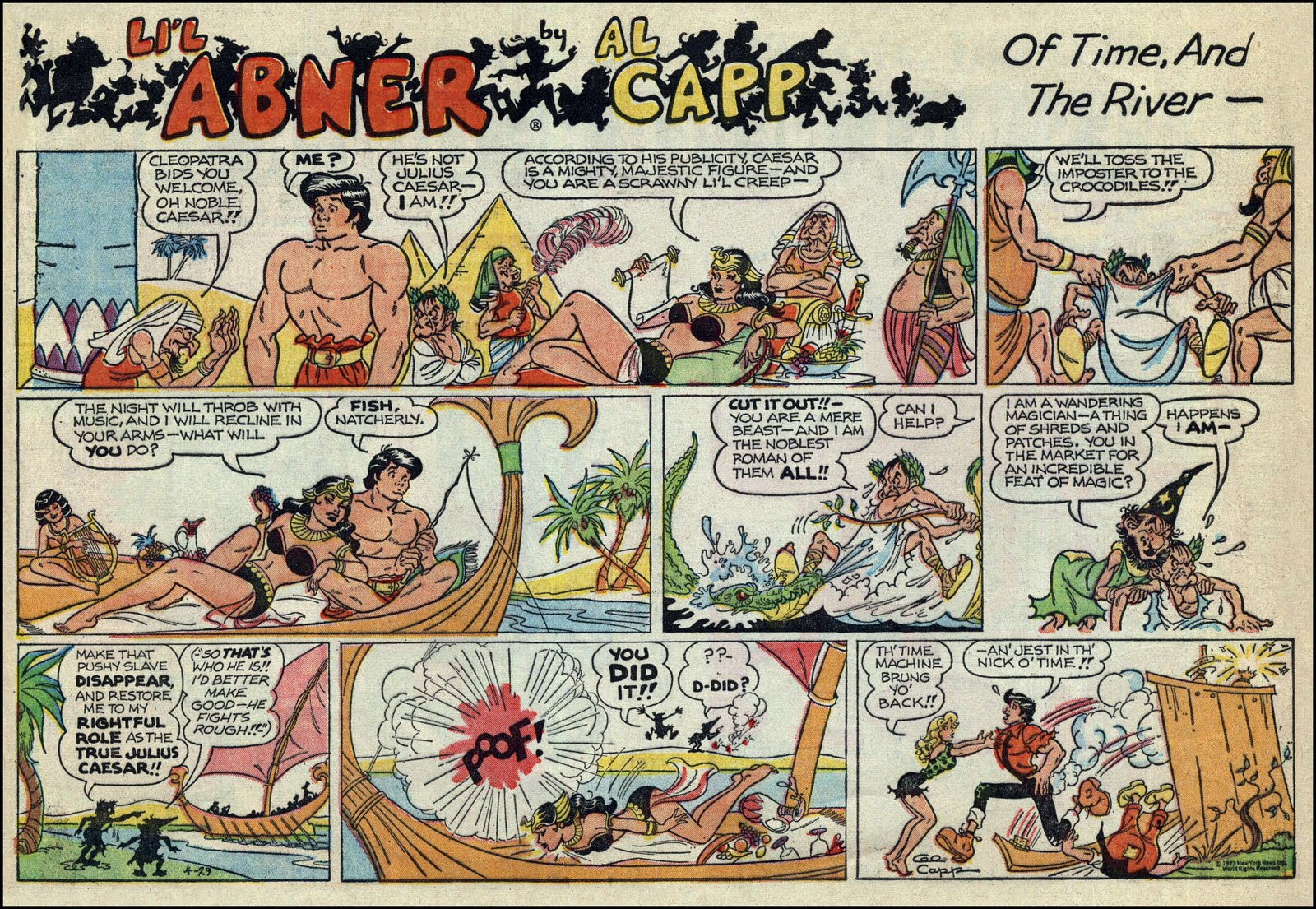 Lil abner comic strip character joe