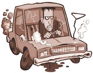 Tuning: Velhote Arranja o Carro Com Cimento