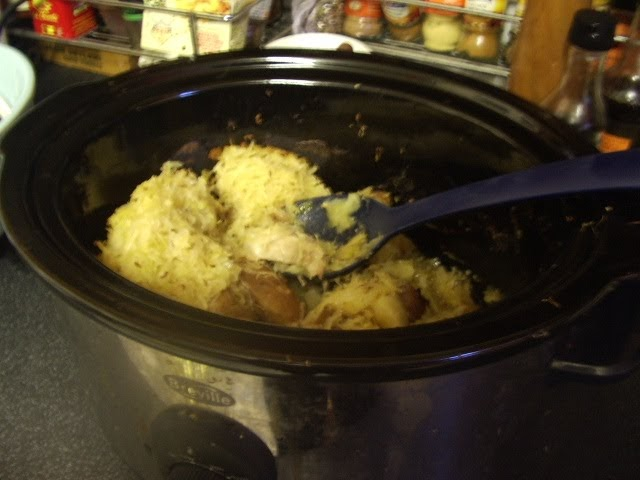 Slow Cooked in Blighty: German style slow cooker sauerkraut and pork ...