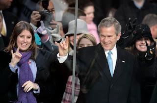 Bush is Gone!