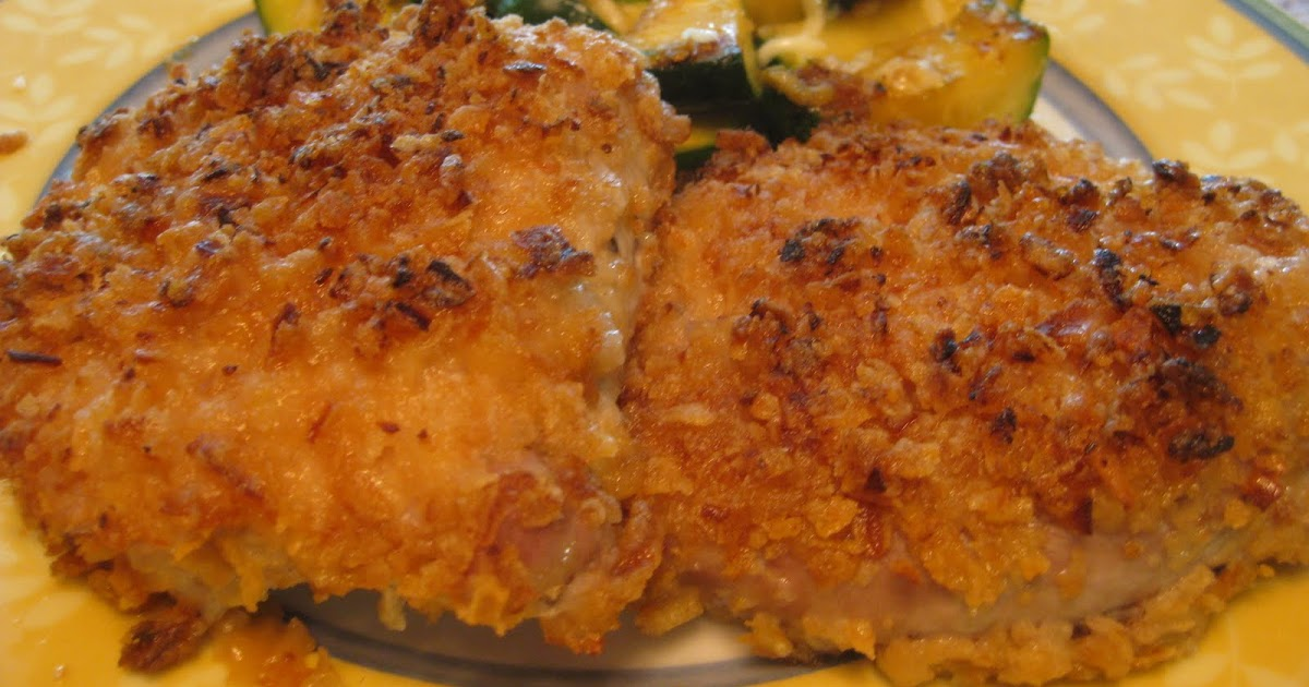 Running Mama Cooks: French's Fried Onion Crusted Pork ...