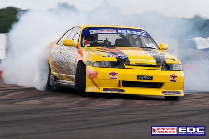 Nissan Skyline R33 Drifting. Tim Marshall R33 Skyline
