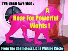 A Roar for Powerful Words Award