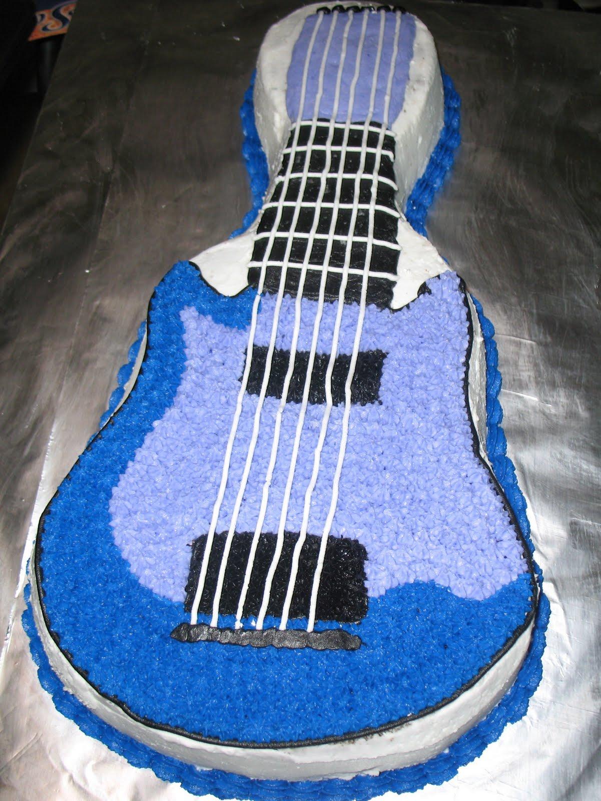 Js Cakes Guitar Cake 2