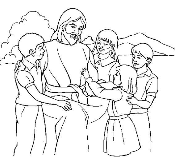 Раскраски с иисусом