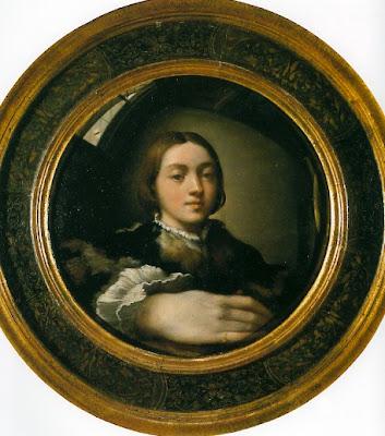 Art de la renaissance et du baroque parmigianino for Autoportrait miroir