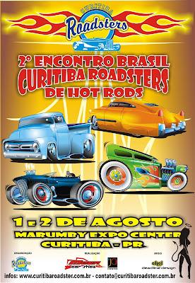 CARTAZ CURITIBA ROADSTERS