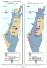 Opdeling Palestina 1947 - 1949