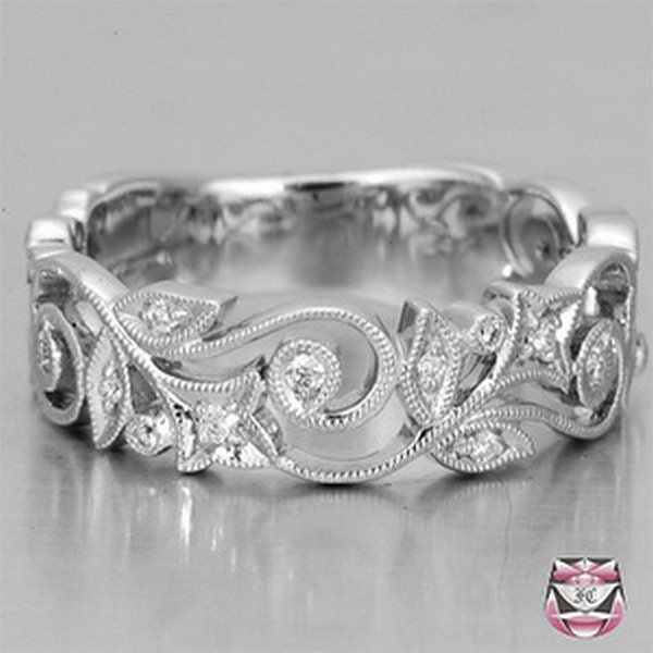 Filigree Ring Bands: Steel City Bride: A Pittsburgh Wedding: Really Gorgeous