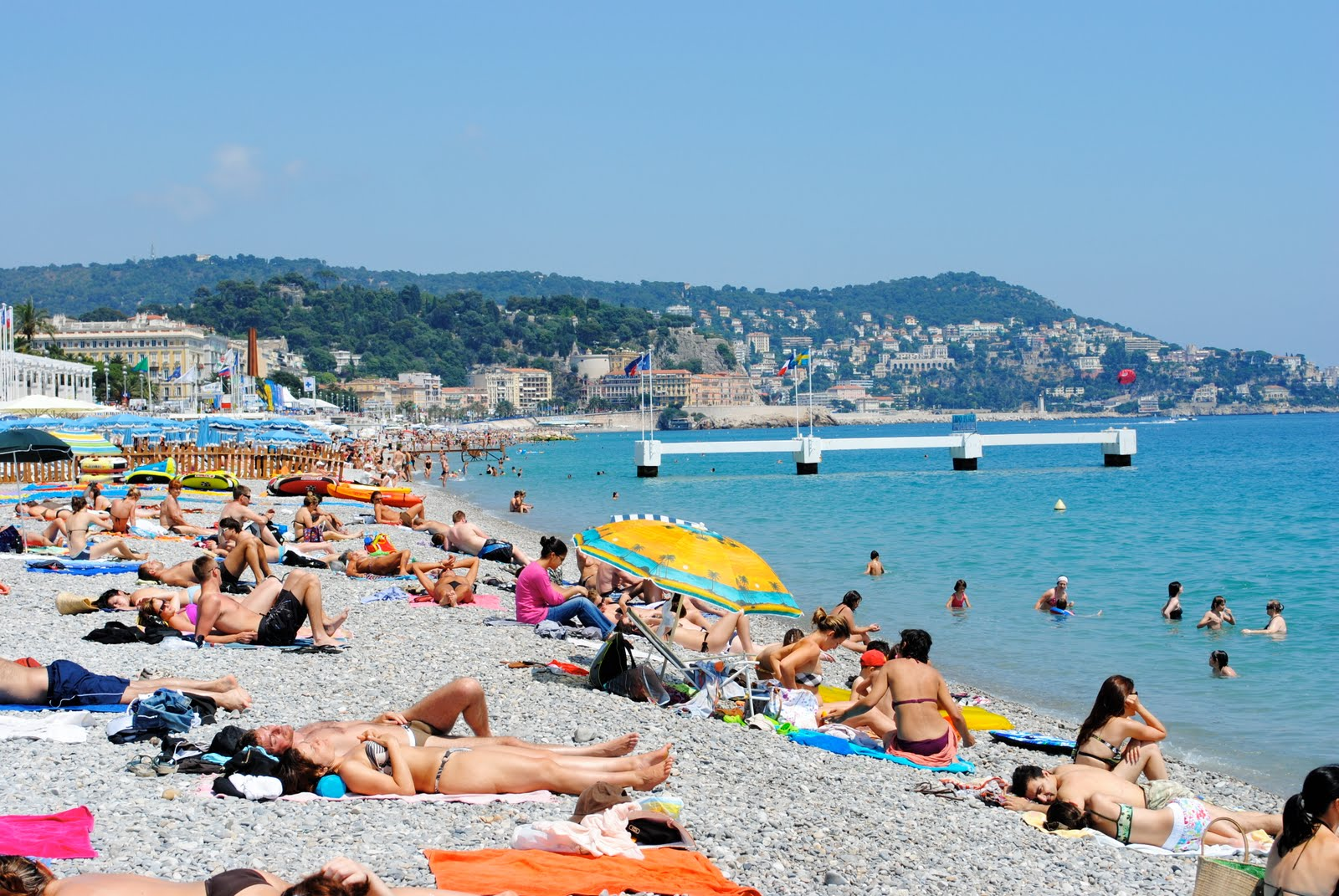 French riviera topless beaches