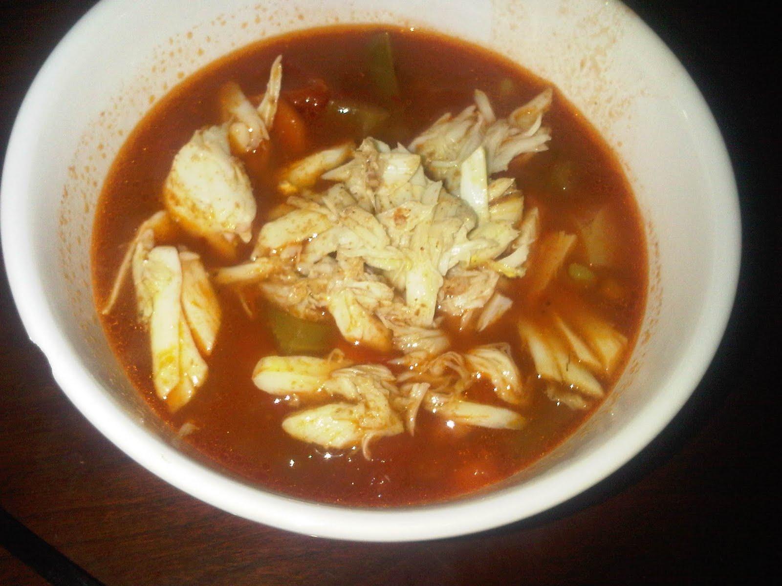 Суп из краба рецепт с фото